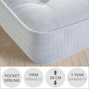 Fogarty Wool 1500 Pocket Spring Mattress