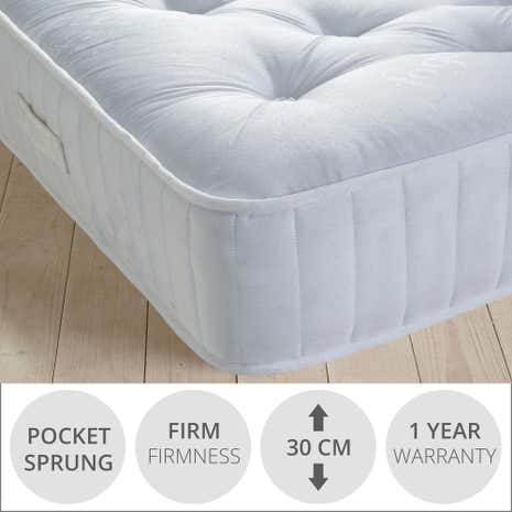 Fogarty All Seasons 800 Pocket Spring Mattress