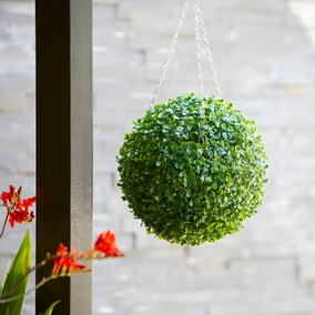 Solid Green Topiary Ball