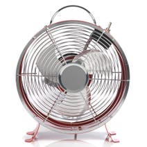 Retro 9 Inch Clock Fan