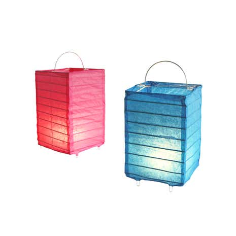 Set of 4 Deluxe Lanterns