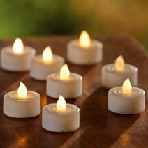 Set of 12 LED Flickering Candles