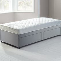 Little Sleepers Open Coil Sprung Edge Divan Set with 2 Drawers