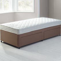 Little Sleepers Anti-Allergy Sprung Edge Divan Set with 2 Drawers