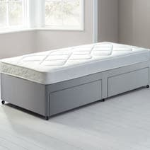 Little Sleepers Water-Resistant Sprung Edge Divan Set with 2 Drawers