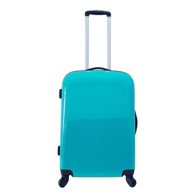 Brights Teal 24 Inch Suitcase