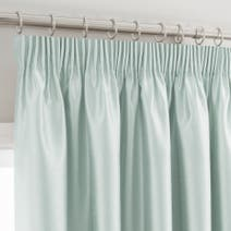 Duck Egg Montana Lined Pencil Pleat Curtains