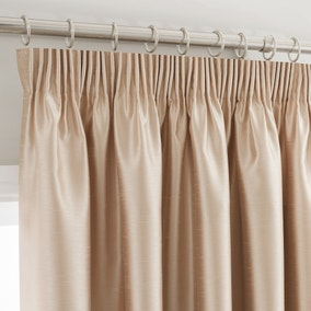 Montana Gold Lined Pencil Pleat Curtains