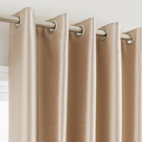 Montana Gold Lined Eyelet Curtains