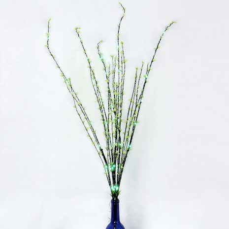 Floral LED Twig Tree Lights