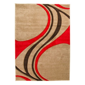 Red Mirage Rug