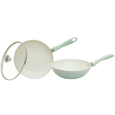 Prestige Create Green Triple Pack Pan Set