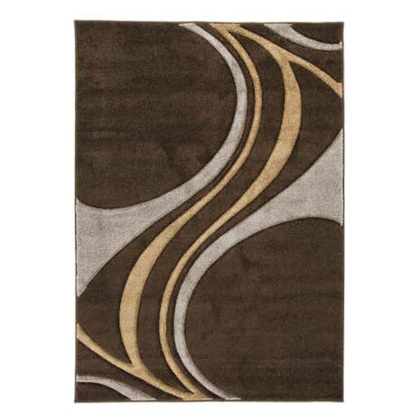 Brown Mirage Rug