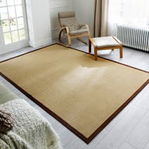 Extra Large Natural Weave Rug