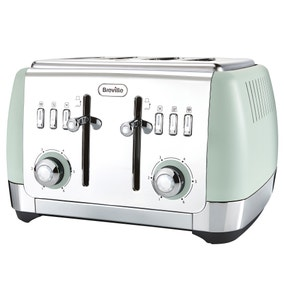 Breville VTT768 Strata Collection 4 Slice Green Toaster