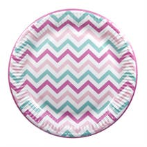 Girls Party Paper Plate 8 Pack
