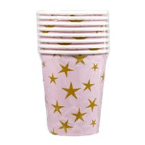 Girls Party Paper Cups 8 Pack