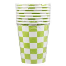 Boys Party Paper Cups 8 Pack