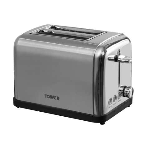 Tower T20002 2 Slice Stainless Steel Toaster
