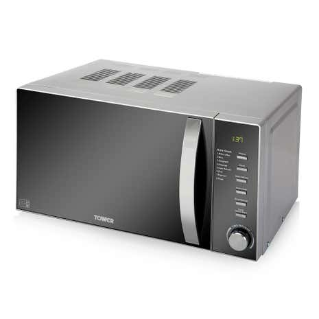 Tower T24007 800W Stainless Steel 20L Digital Microwave