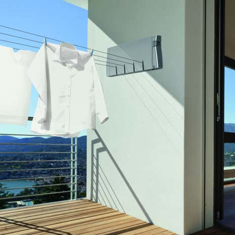 Hills Slim 4 Retracting Washing Line