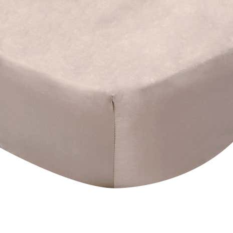 Dorma Satin 350 Thread Count 38cm Fitted Sheet