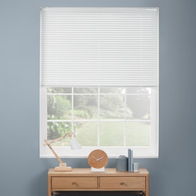 White Cordless Easy Touch Aluminium Venetian Blind