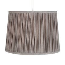 Mink Vienna Cotton Mushroom Pleat Shade