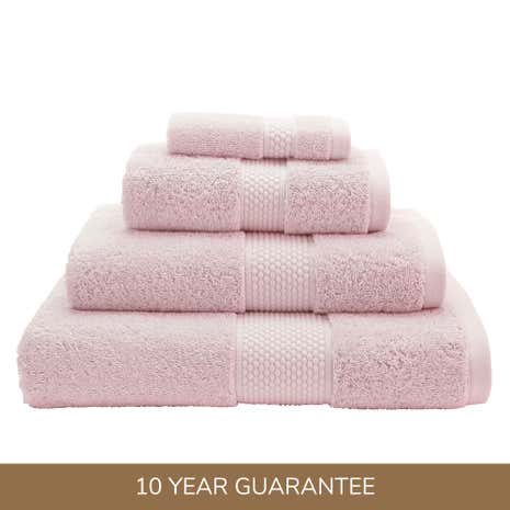 Dorma Rose Silk Blend Towel
