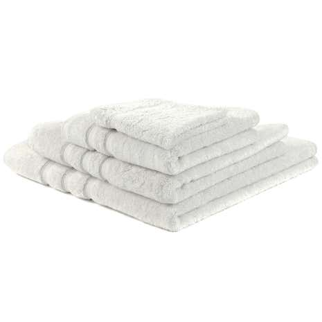 Hotel White Pima Towel