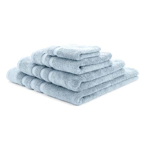 Hotel Cottage Blue Pima Towel