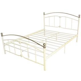 Beatrice Cream Bedstead