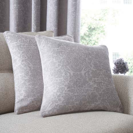 Silver Althorp Cushion