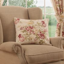 Dorma Red Brympton Cushion