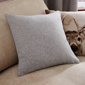 Grey Harris Cushion