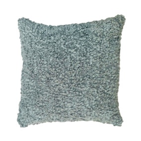 Bobbled Grey Cushion