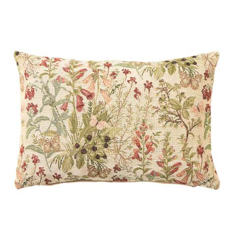 Country Garden Tapestry Cushion Cover