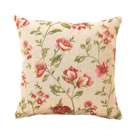 Floral Tapestry Cushion Cover