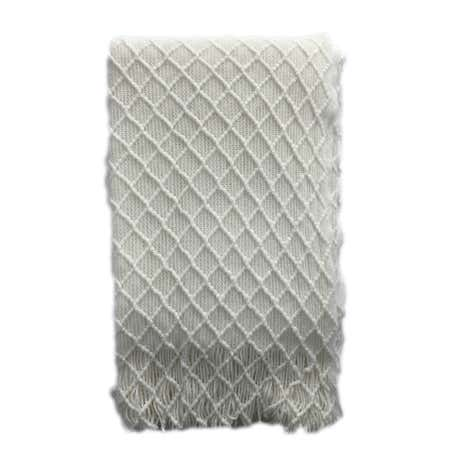 Floriental Diamond Throw