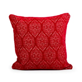 Lola Red Cushion
