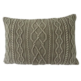 Brown Regen Knit Cushion
