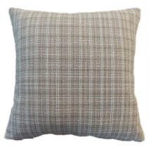 Mauve Textured Check Cushion