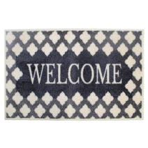 Welcome Fretwork Washable Mat
