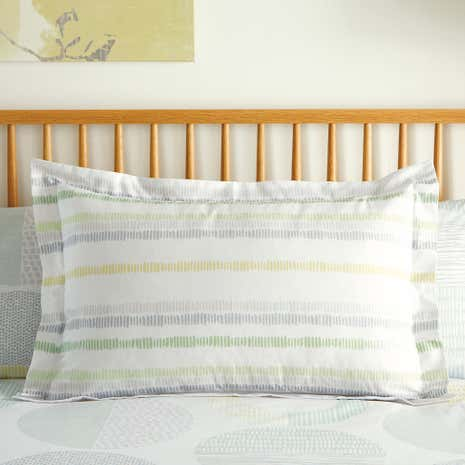 Charlie Green Oxford Pillowcase