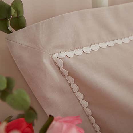 Betsy Natural Oxford Pillowcase