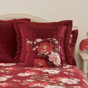 Dorma Charlotte Red Cushion