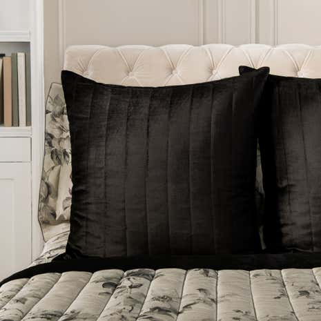 Dorma Harriet Quilted Square Pillowcase