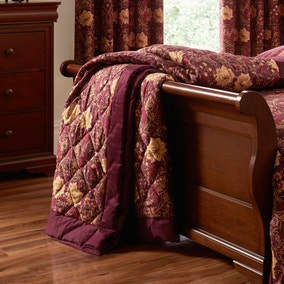 Dorma Victoria Plum Throw