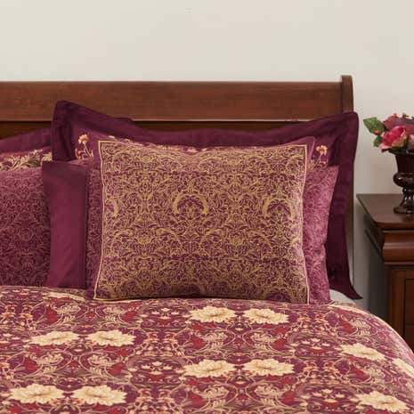 Dorma Victoria Plum Cushion