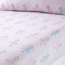 Fairies Pink Fitted Sheet